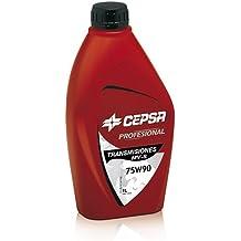 CEPSA 646414188 Aceite sintético para transmisiones manuales y cajas de cambios, ...