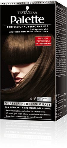 teinture pour les cheveux 4-6 brun miel