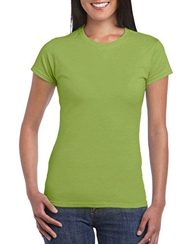 Gildan SoftStyle T-Shirt pour femme Vert - Vert kiwi