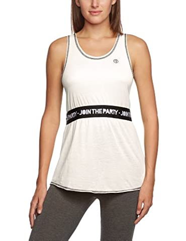 Zumba Fitness Sexy In a Cinch Top Femme Blanc FR : XL (Taille Fabricant : XL)