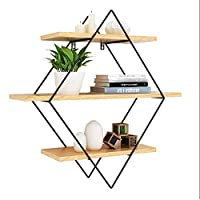 Creative Hanging Wood Bar Wall Decoration Shelf Home Dining Room Personality Wall Racks, MTX Ltd
