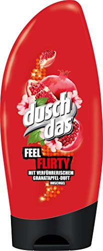 Duschdas Duschgel Feel Flirty, 6er Pack (6 x 250 ml)