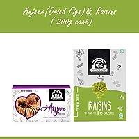 Wonderland Foods Premium Quality Anjeer & Raisin 400g (200g Each)