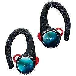 Plantronics BackBeat FIT 3100 Écouteurs sportifs sans fil semi intra-auriculaires, True Wireless, IP57 avec boîtier de charge, noir
