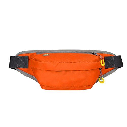 Outdoor Sport Fitness Multifunktions-Taschen Mehrfarbig Orange2