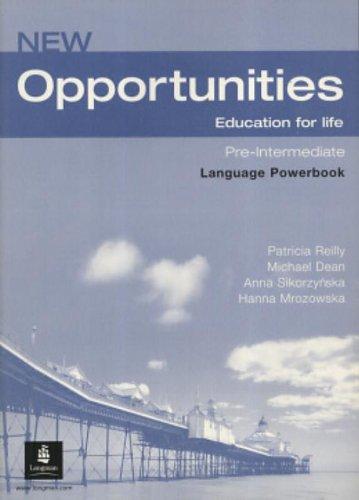 Opportunities Global Pre-Intermediate Language Powerbook NE -