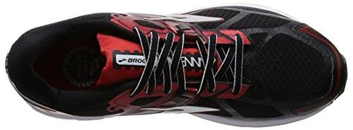 Brooks Concorrenza Rosso Corsa Nero Scarpe 7 Argento Da Ravenna Uomo rRnfqAr