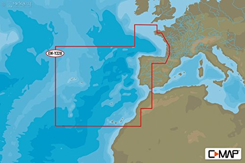 C-MAP - MAX-N WIDE - West European Coasts - µSD/SD-Karte - C-map