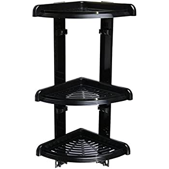 duschecke bad regal mit 3 ablagen f r dusche oder badewanne duschablage badabalage. Black Bedroom Furniture Sets. Home Design Ideas