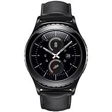 Samsung Gear S2 Classic - relojes inteligentes (Cuero, Alrededor, Ión de litio, Negro, Negro, 802.11b, 802.11g, 802.11n)