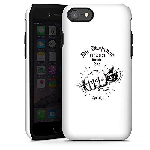 Apple iPhone X Silikon Hülle Case Schutzhülle Xatar Fanartikel Merchandise Die Wahrheit schweigt Tough Case glänzend