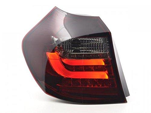 Preisvergleich Produktbild Led Taillights BMW 1er E87 / E81 3 / 5-Dr. Yr. 07-11 red / black