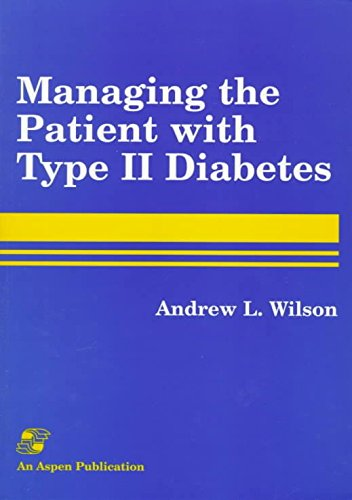 Portada del libro [(Managing the Patient with Type II Diabetes)] [By (author) Andrew Wilson ] published on (August, 1997)