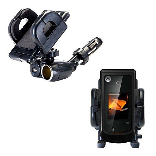 Bali Usb (Das einzigartige Halterungssystem für Fahrzeugzigarettenanzünder und USB-Ladegerät komplett mit verstellbarem Motorola Bali Halter)