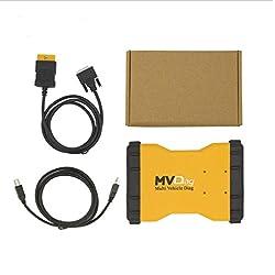 Multi véhicule Diag Mvd avec Bluetooth 5.00.8Version gratuit Nombre