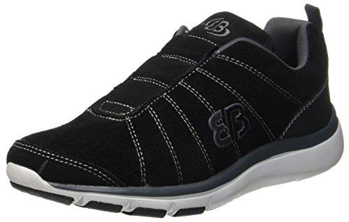 Bruetting Herren Dallas Sneakers, Schwarz (Schwarz/Grau), 43 EU
