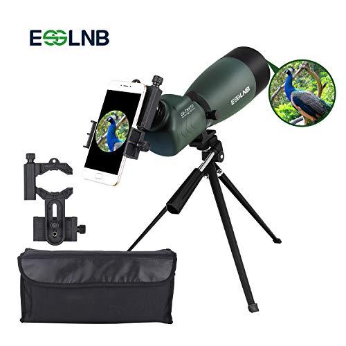 ESSLNB Telescopio Terrestre 25-75X70 Impermeable Telescopios