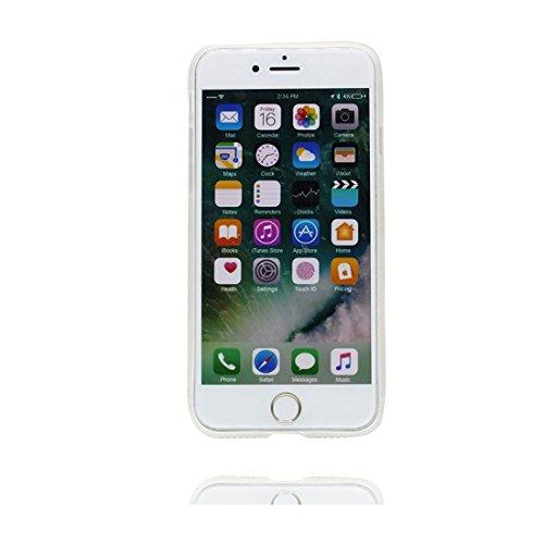 Custodia iPhone 6S, Silicone trasparente Cartoon Stile del modello Case Con materiale di alta qualità & morbido & & Ultra sottile iPhone 6 / 6s copertura 4.7 Graffi Prova / Banana anatra duck