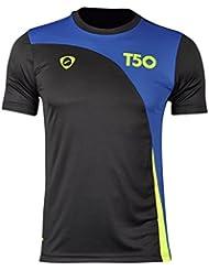 Jeansian Hombres Camiseta Deporte Delgado Tapas Men Quick-dry T-shirt Sport Slim Tops LSL145