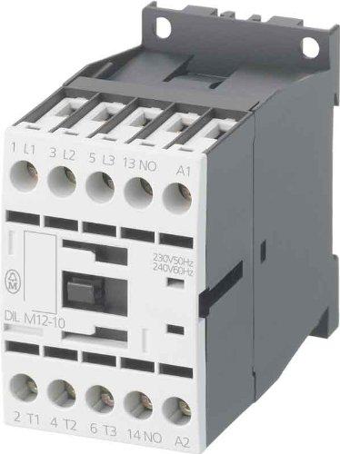 Eaton 276880 Leistungsschütz, 3-polig + 1 Öffner, 5, kW/400 V/AC3, DC-Betätigt