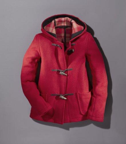 Original Montgomery Dufflecoat Damen Kurz, Größe 38, Rot