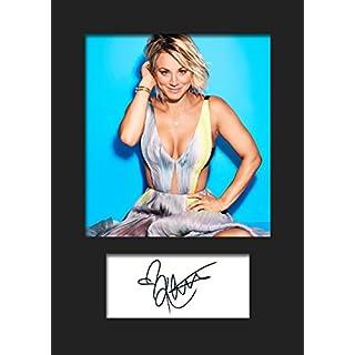The Big Bang Theory–Kaley Cuoco # 1signiert Foto A5Print