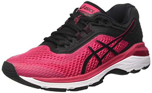ASICS Damen GT-2000 6 Laufschuhe, Pink (Bright Rose/Black/White 2190), 39 EU