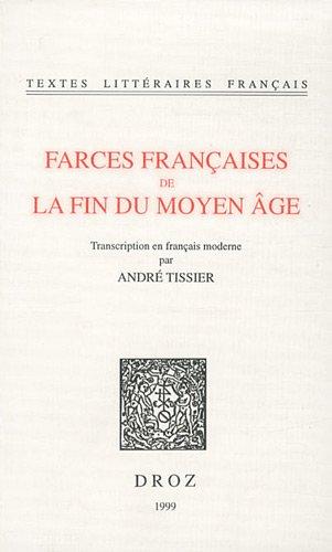 Farces françaises de la fin du Moyen-Âge, numéro 1