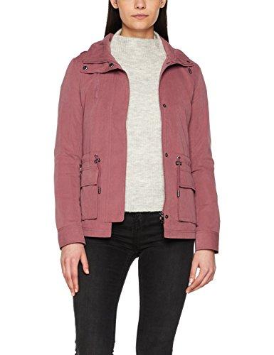 ONLY Damen Onlstarlight Spring Parka Jacket CC OTW, Rot (Wild Ginger Wild Ginger), 40 (Herstellergröße: L) (Jacke K2)