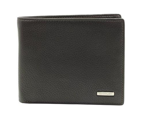 Portafoglio SADDLER con 2 Sezioni da 12 Carte di Credito