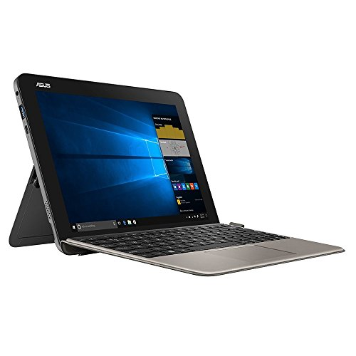 ASUS Transformer Mini T103HAF (90NB0FT2-M02600) 25, 7 cm (10.1 Zoll, WXGA, Wv, Touch) Detachable (Intel Atom X5-Z8350, 4GB RAM, 128GB SSD, Windows 10) Slate Grey Asus Quad Core Laptop
