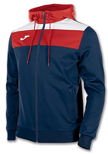 Joma Crew - Jacke für Herren, Farbe marineblau / rot.  Größe L (Joma Fußball)