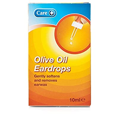 Care Olive Oil Ear Drops 10 ml Loosening & Removal Of Wax (Pack of 2)
