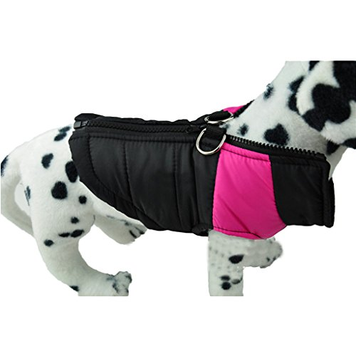 Größer Hundemantel wasserdicht Winterjacke Hundebekleidung Hundejacke Wintermantel Regenmantel - 6