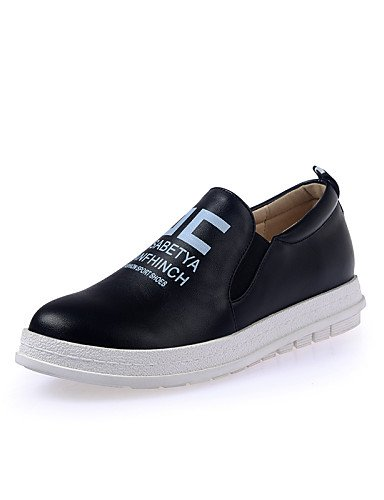 ZQ Scarpe Donna - Mocassini / Senza lacci - Tempo libero / Ufficio e lavoro / Casual - Plateau / Creepers - Plateau - Finta pelle -Nero / , red-us8 / eu39 / uk6 / cn39 , red-us8 / eu39 / uk6 / cn39 black-us6.5-7 / eu37 / uk4.5-5 / cn37