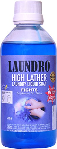 CERO LAUNDRO High Lather Laundry Liquid Detergent Soap (200ml)