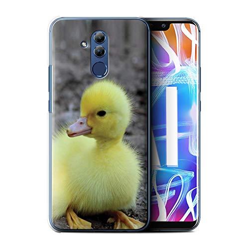 Stuff4® Hülle/Case für Huawei Mate 20 Lite/Entlein/Ente Muster/Niedlich Haustiere Kollektion
