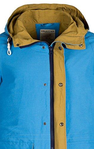 La marque selected fieldjackets brighton c veste pour homme Bleu - Campanula