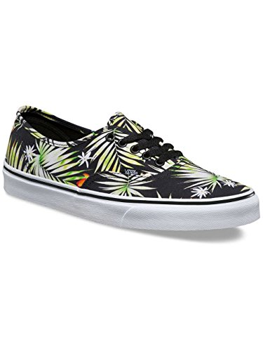 Vans Ua Authentic, Scarpe da Ginnastica Basse Uomo (decay Palms) Black/true White