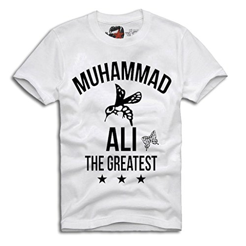 Arnoldo Blacksjd T-SHIRT MUHAMMAD ALI T-SHIRT- CASSIUS CLAY, Boxing Legend Gr. S-XXL Large