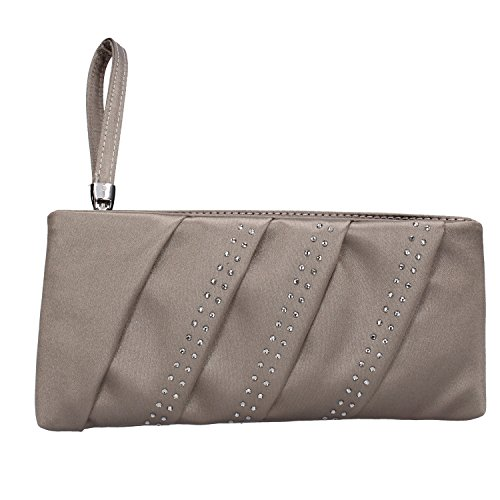 MADE IN ITALY, Sac à main pour Femme Beige scuro