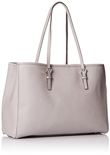 MICHAEL by Michael Kors Jet Set Travel Borsa in Pelle Grigio Donna Pearl Grey