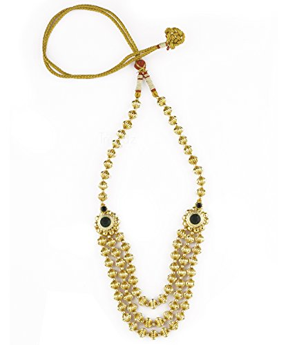 Womens Trendz Traditional Handmade Jewellery Jav Mani Triveni Haar Necklace for Women and Girls  available at amazon for Rs.1030