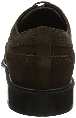 Tods Herren Shoes Suede Mokassin Brown (testa Moro)