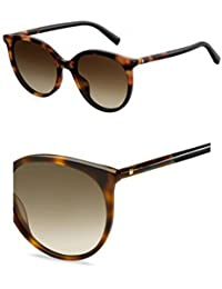 Max Mara Damen Sonnenbrille » MM GEMINI II«, schwarz, 581/IR - schwarz/grau
