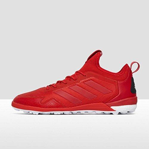 adidas Ace Tango 17.1 Tf, Chaussures de Soccer Intérieur Homme Rouge (Rojo/escarl/ftwbla)