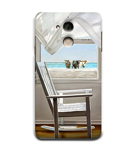 Open Window 3D Hard Polycarbonate Designer Back Case Cover for Coolpad Note 5