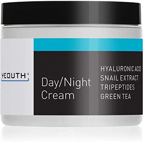 Crema hidratante facial día YEOUTH extracto caracol