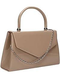 SwankySwans Kendall Pochette style mini sac à main en cuir verni