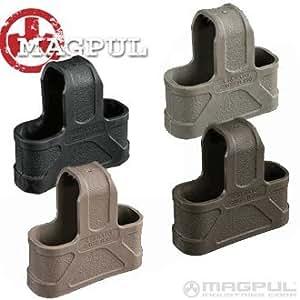 Magpul PTS (Airsoft) - lot de 3 -attrape rapide en polymére pour chargeur 5,56 (M4/M16/HK416 & dérivés) (5,56 nato) DARK EARTH